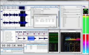 SONY SoundForge Pro Screenshot