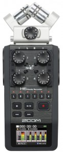 Zoom H6 mit XY-Mikrofon