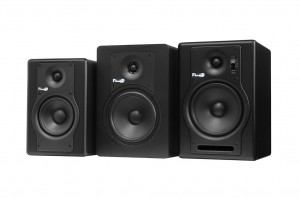 Fluid Audio F4, C5 und F5