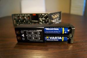 Fostex FM-3 Batteriefach
