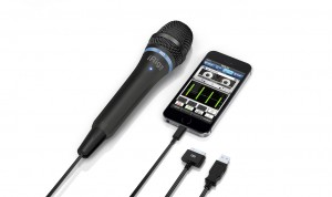 iRig Mic HD an iPhone 5s