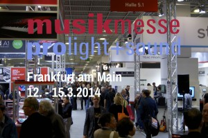 Musikmesse Prolight 2014