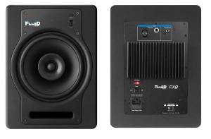 Fluid Audio FX8 Front und Rückseite