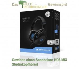 FieldRecording.de Gewinnspiel - Gewinne einen Sennheiser HD6 MIX Studiokopfhörer!