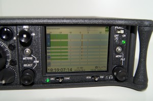 Sound Devices 633 - Display mit Tageslichtmodus