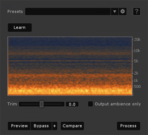 iZotope RX 4 Ambience-Match