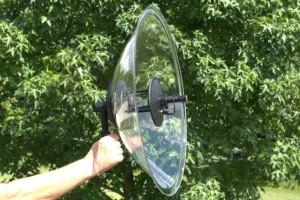 Wildtronics Parabolic Universal Microphone
