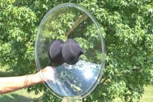 Wildtronics Parabolic Universal Microphone mit Windschutz