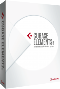Cubase Elements 8 Packshot