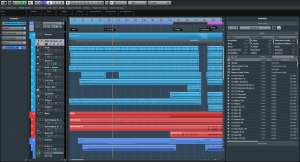 Cubase Elements 8 Project Window