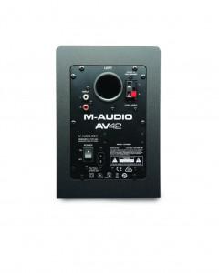 M-Audio AV 42 Rückseite