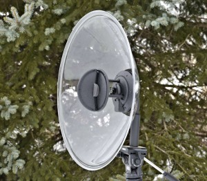 Wildtronics Pro Mono-Stereo Parabolspiegel-Mikrofon (Foto: Wildtronics LLC)