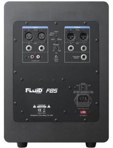 FLUID AUDIO F8S Subwoofer Rückseite