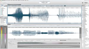 Screenshot von MAGIX SOUND FORGE Pro MAC 3