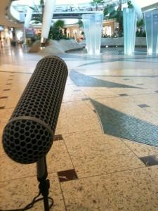 Aufnahmen in Leipzig für Shopping Mall Library  (Foto von André Klar)