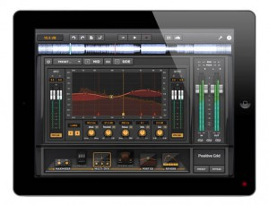 Positive Grid Mastering App auf iPad