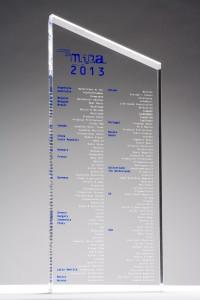 mipa Award Trophäe 2013