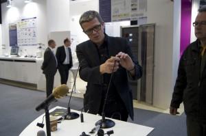 DPA Microphones CEO Cristian Pulsen