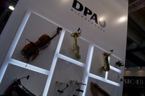 Stand von DPA Microphones