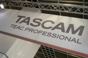 Stand von Tascam - Team Professional