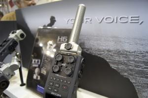 Zoom H6 Field Recorder mit Shotgun Mikrofon