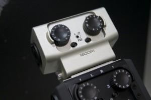 Zoom H6 Field Recorder mit Anschluss-Kapsel