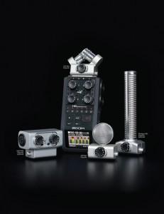 Zoom H6 Produktfamilie