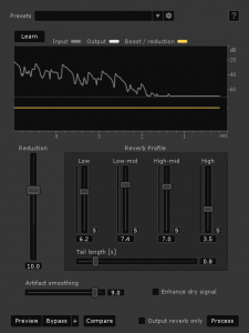 iZotope RX 4 Advanced DeReverb
