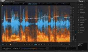 iZotope RX 4 Advanced User Interface