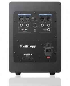 Fluid Audio F8S - Rückseite