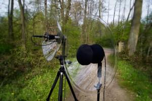 Wildtronics Parabolspiegel-Mikrofone