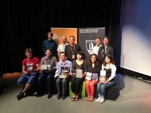 Preisverleihung des klingt gut! / AES Hamburg Student Award, Best Student Artwork