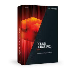 MAGIX SOUND FORGE Pro MAC 3 Boxshot